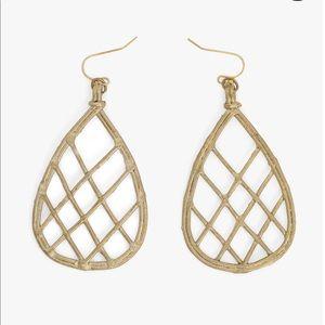 Noonday Dhokra Teardrop Earrings